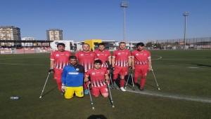 Şanlıurfa Engelliler Spor Erciyes'e Mağlup Oldu