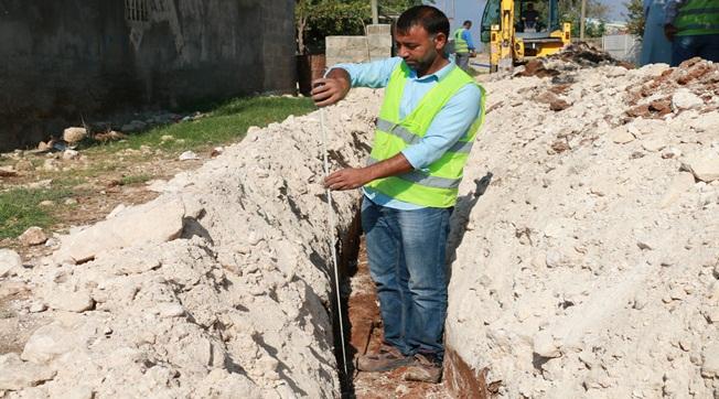 Şanlıurfa kırsalında içme su sorunu çözülüyor