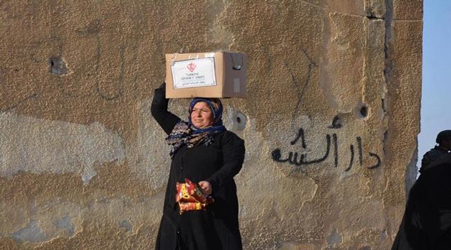Şanlıurfa Müftülüğü Tel Abyad'da Mutluluk Kaynağı Oldu