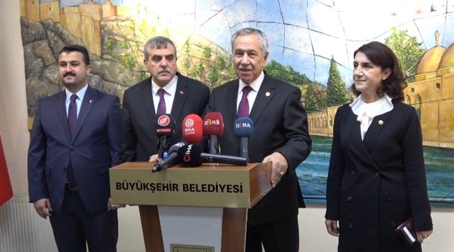 Arınç, AK Parti Olarak Şanlıurfa'mızı Takdir Ettik
