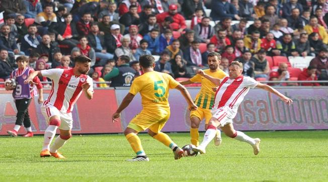 Şanlıurfaspor deplasmanda Samsunspor'dan 5 Yedi