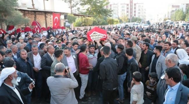 Şehit Halil Yoğurt Son Yolculuğuna Uğurlandı