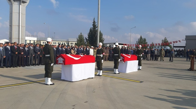 Şehit Tekin Nevşehir'e Şehit Keskin Balıkesir'e Uğurlandı