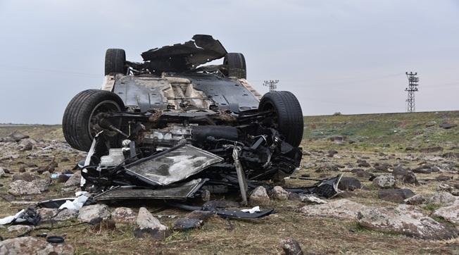 Siverek-Diyarbakır Yolunda Kaza Bir Kişi Yaralandı