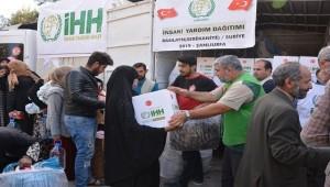 Suriye'deki sivil halkın yaraları sarılıyor