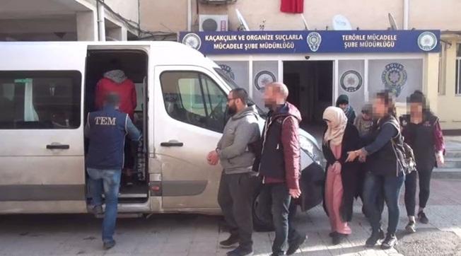Urfa'da Belçikalı Fransız ve Suriyeli Deaş'lılar Yakalandı