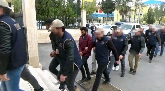 Urfa'da Sosyal Medya Operasyonu 5 Kişi Tutuklandı