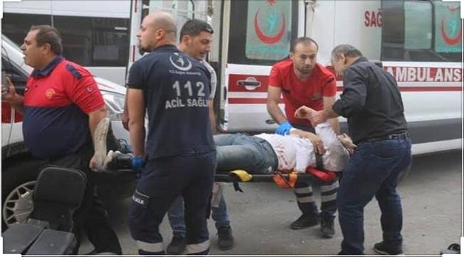 Varil Patladı 3 Sağlıkçı Yaralandı