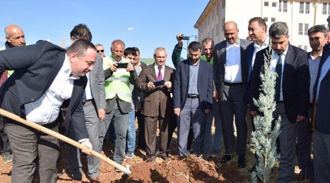 Viranşehir'de 5 Bin Fidan Toprakla Buluştu