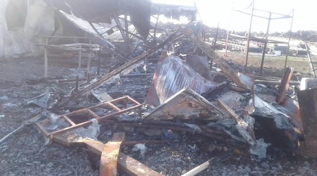 Viranşehir'de DSİ Şantiyesi Kundaklandı İddiası