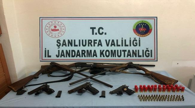 Viranşehir'de Kaçak Silah Operasyonu 4 Tutuklama