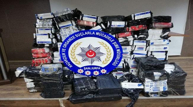 15 Günde 114 Bin Paket Kaçak Sigara Yakalandı