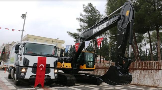 Akçakale Belediyesi Araç Parkı Güçleniyor