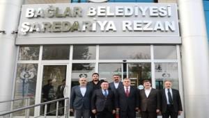 Beyazgül Diyarbakır Bağlar Belediyesini Ziyaret Etti