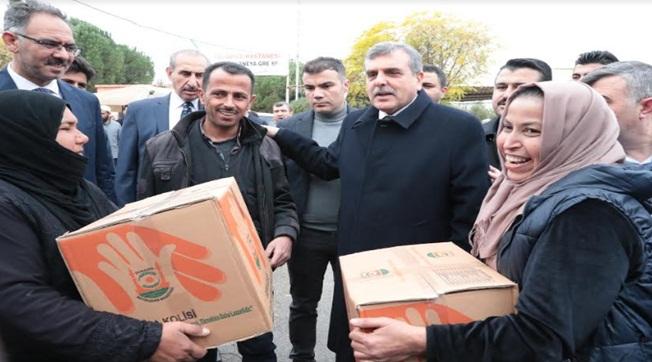 Beyazgül Tel Abyad Halkıyla Bir Araya Geldi