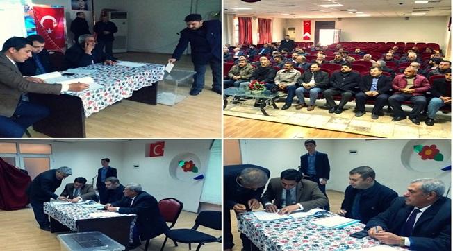 Birecik SYDV Mütevelli Heyeti Muhtar Üye seçimi Yapıldı
