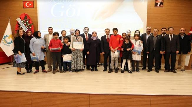 Haliliye'de Görme Engelli Etkinlik Programı Düzenlendi