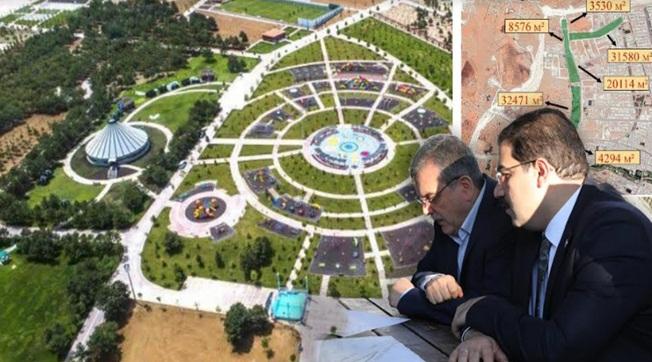 Haliliye Millet Bahçesi Projesi İle Urfa Nefes Alacak