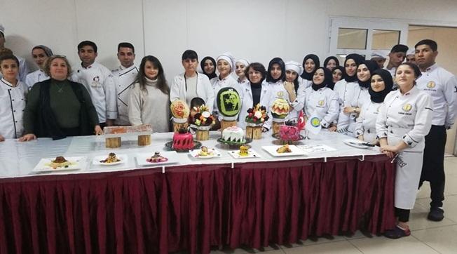 HRÜ Aşçılık Programında Workshop Düzenledi