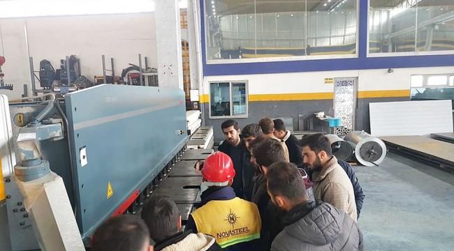 HRÜ Makine Mühendisliği Öğrencilerine Teknik Gezi