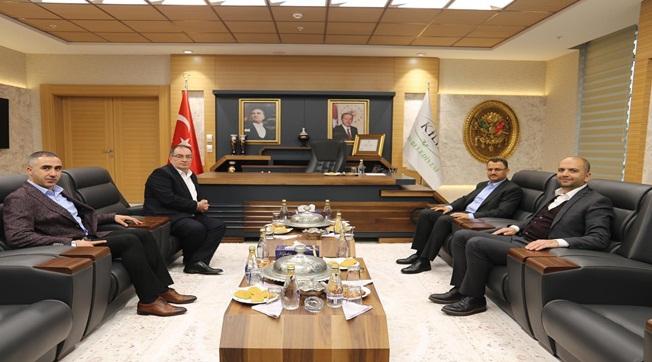 Mahmut Kaçar Kilis Belediye Başkanını Ziyaret Etti