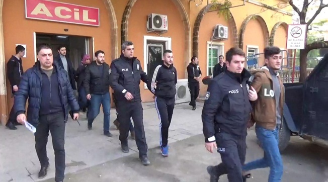 Mardin ve Şanlıurfa'da 5 Akü Hırsızı Yakalandı