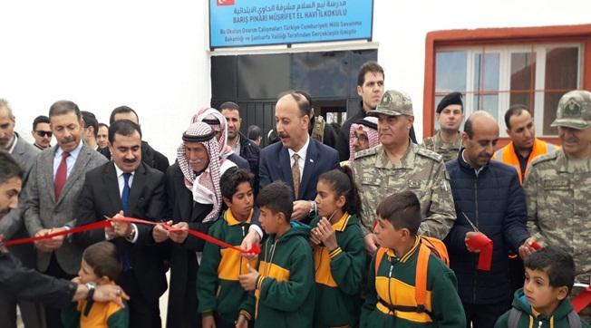 Müşrifet El Havi İlkokulu Açıldı