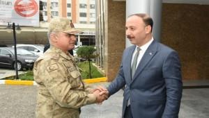 Mustafa Başoğlu Paşa Şanlıurfa'ya Geldi