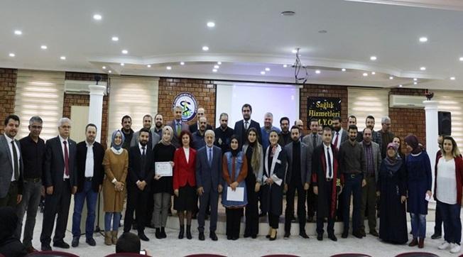 Sağlık Hizmetleri MYO'nun Başarılı Öğrencileri Ödüllendirildi
