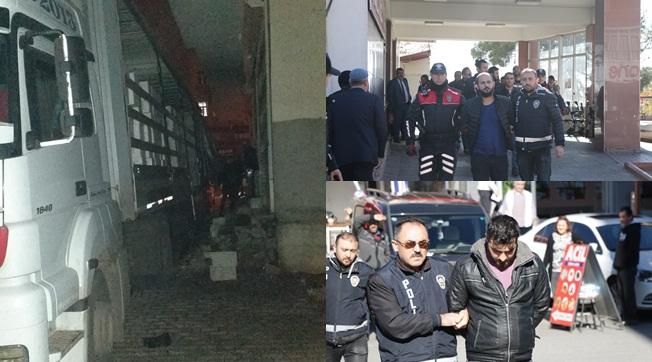 Maraş'tan Gelen Sahte Nakliyeciler Şanlıurfa'da Yakalandı