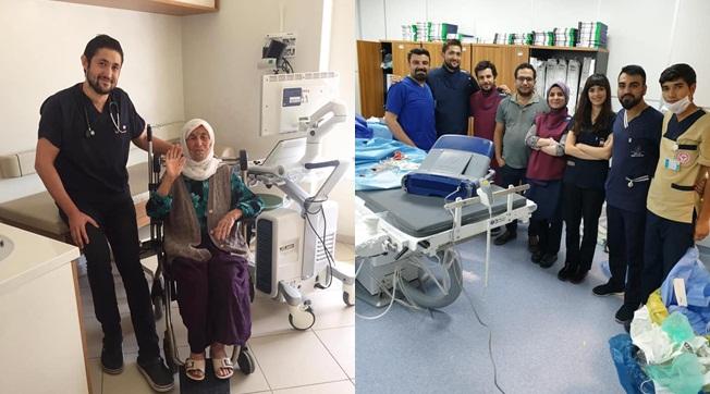 Şanlıurfa'da 100 Yaşındaki Hastaya Kalıcı Kalp Pili Takıldı