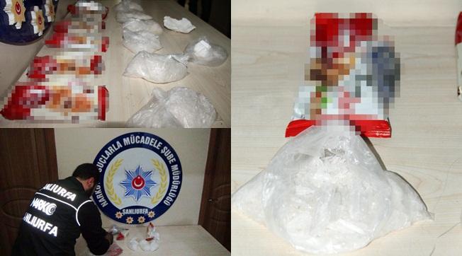 Şanlıurfa Otogarından Kokain Operasyonu