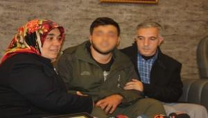 Urfa'da Teslim Olan Terörist Annesine Kavuştu