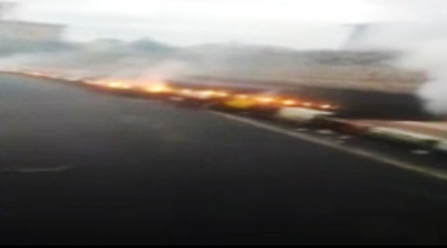 Viranşehir'de Yüksek Gerilim Kablosu Yanarak Koptu