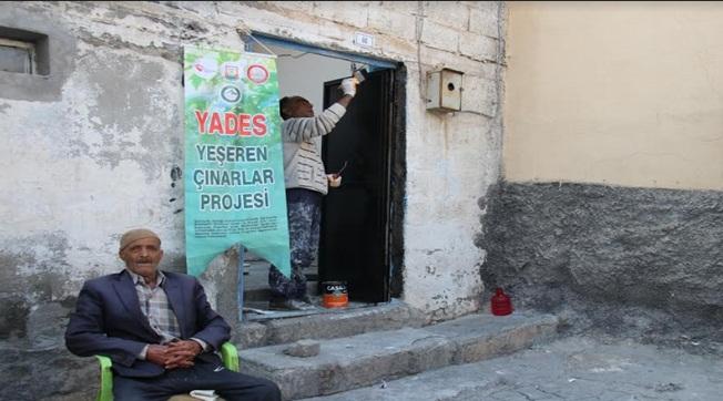 YADES İle 170 Yaşlının Evi Yenilendi