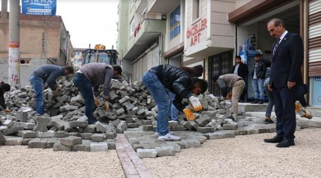 Yalçınkaya Süleyman Şah Mahallesindeki Çalışmaları İnceledi