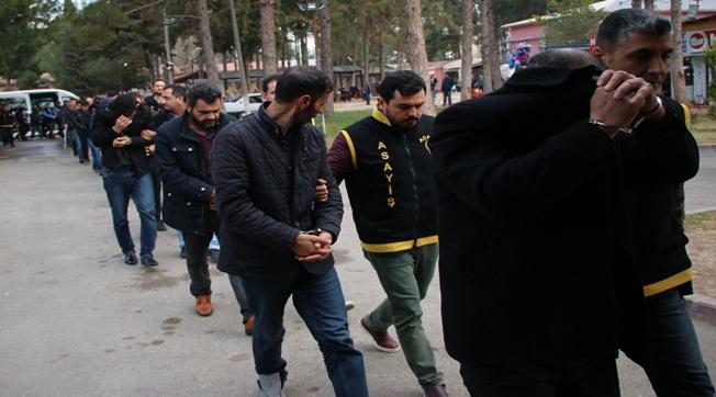 Adana ve Şanlıurfa'da Operasyon 32 Gözaltı