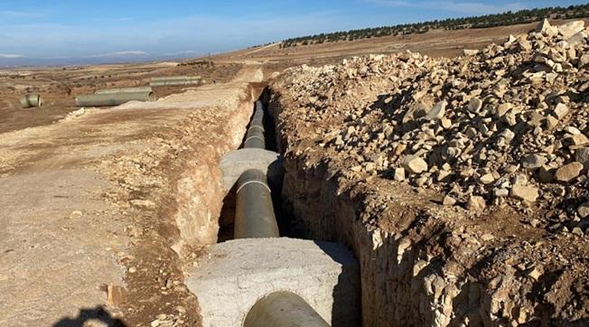 Aydın : Urfa'da 31 Bin Dekar Arazi Sulamaya Açılacak