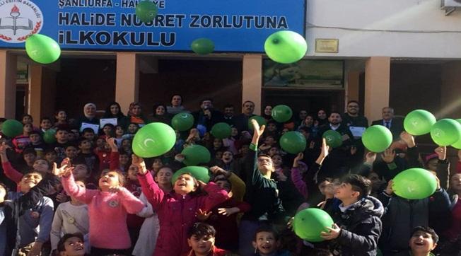 Benim Kulübüm Yeşilay Projesi Öğrenciler İle Yapıldı