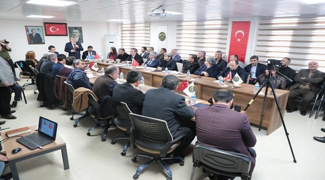 Halfeti'de 2020 Yılı Hizmet Planlama Toplantısı Yapıldı