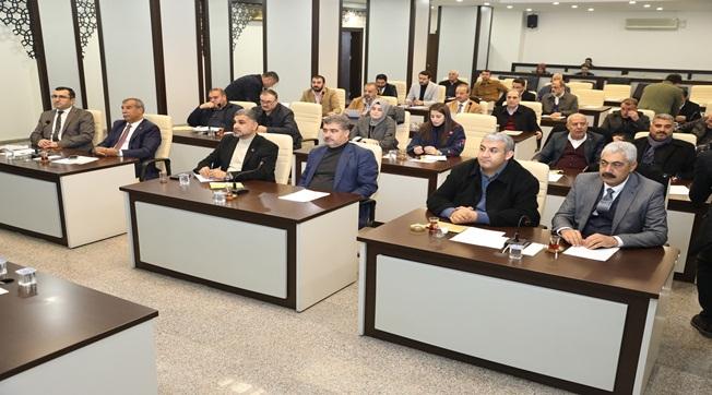 Haliliye'de 2020 Ocak Ayı Toplantısı Yapıldı