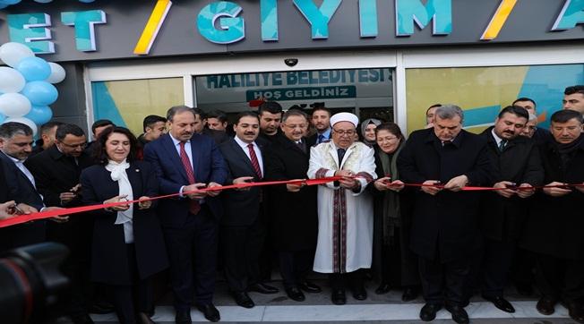 Haliliye'de Sosyal Market Hizmete Açıldı