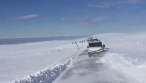 Karacadağ'da Tipi Aniden Bastırdı Kayakçılar Mahsur Kaldı