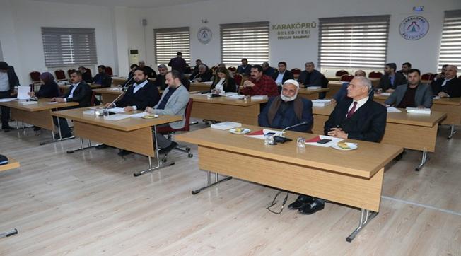 Karaköprü'de 2020 Ocak Ayı Meclis Toplantısı Yapıldı