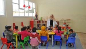 Mehmetçiğin onardığı okulda eğitim öğretim başladı