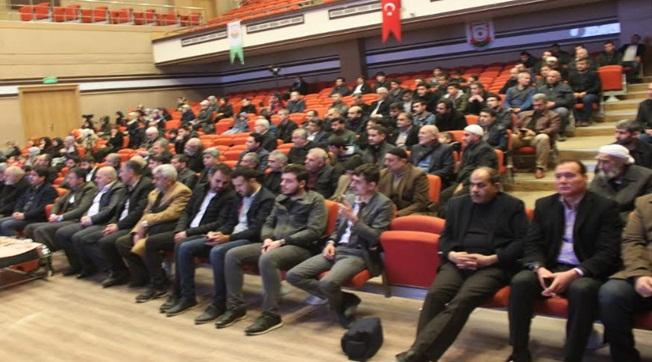 Şanlıurfa'da STK'lar Doğu Türkistan'ı Ele Aldı