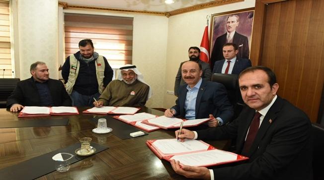 Şeyh Ahmet El Fellah İlkokulu İçin Protokol İmzalandı