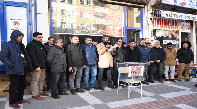 Siverek'te Mazlumlar İçin Kampanya Düzenlendi