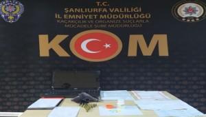 Urfa'da 7 ev ve 2 iş yerine tefeci operasyonu 5 gözaltı