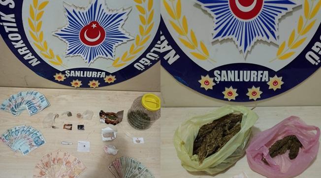Urfa'da Uyuşturucu Satıcılarına Operasyon 9 Tutuklu